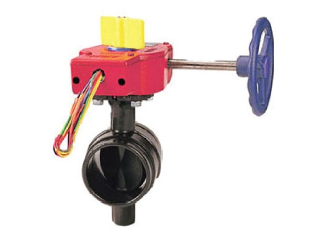 Butterfly Valve (Grooved) with Gear Operator