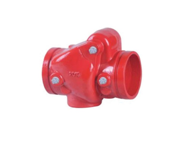 Swing Check Valve - Grooved